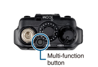 Instant Operation with Multi-Function Button